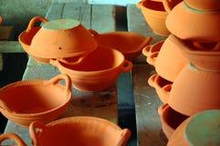 Traditionell polsk krukmakeri Royaltyfri Fotografi
