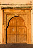 Traditionell port i Marocko Arkivbild