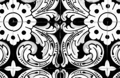 Traditionell portugisisk tegelplatta Royaltyfri Bild
