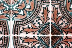 Traditionell portugisisk tegelplatta Royaltyfri Fotografi