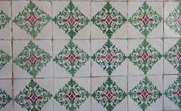 Traditionell portugistegelplattor Royaltyfria Foton