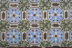 Traditionell portuguese tiles stock images