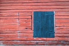 Traditionell röd vägg Royaltyfria Foton