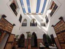 Traditionell riadinre i Marrakech medina Royaltyfri Fotografi