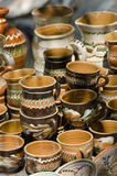 Traditionell rumänsk krukmakeri Royaltyfri Foto