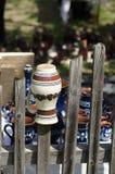 Traditionell rumänsk krukmakeri Royaltyfria Bilder
