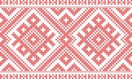 Traditionell ryss- och slavicprydnad Arkivfoton