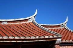 Traditionell södra Kinaarkitektur Arkivbilder