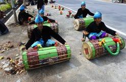 traditionell Sasak gamelan musik royaltyfri foto