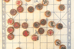 traditionell schackkines Royaltyfria Bilder