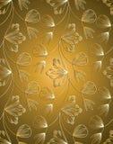 Traditionell seamless wallpaper Royaltyfri Bild