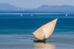 Traditionell segelbåt Arkivfoton