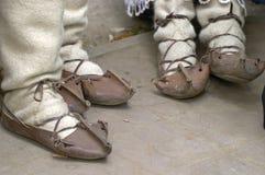 traditionell shose Royaltyfri Fotografi
