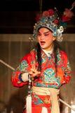 Traditionell Sichuan kinesopera Fotografering för Bildbyråer