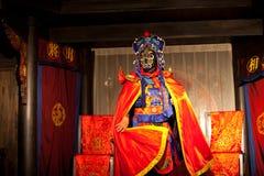 Traditionell Sichuan kinesopera Arkivbild