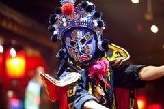 Traditionell Sichuan kinesopera Arkivfoto