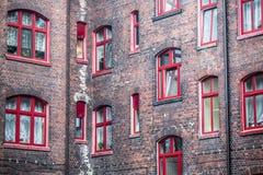Traditionell Silesia bostads- byggnad Arkivbilder
