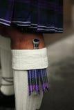 Traditionell skotsk dräkt Royaltyfri Foto