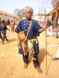 Traditionell soldatförmyndare av traditionen arkivbilder