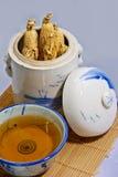 traditionell soup för 03 ginseng royaltyfri fotografi