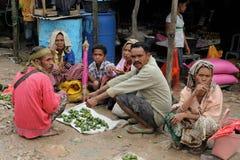Traditionell stam- marknad p? en ? Timor, Indonesien fotografering för bildbyråer