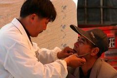 Traditionell tandläkare royaltyfri bild
