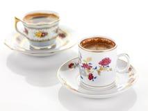traditionell tappning för kaffeset Royaltyfria Foton