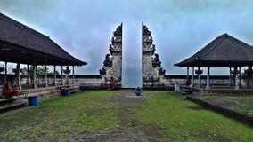 Traditionell tempel i Bali, indonesia arkivfoton
