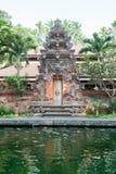 Traditionell tempeldörr Arkivfoton