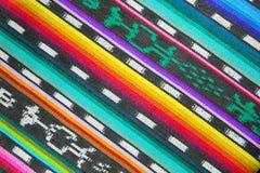 Traditionell textilmodell i Guatemala Royaltyfri Foto