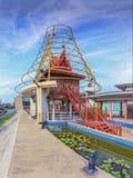 Traditionell thailändsk byggnad Royaltyfri Bild