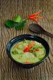 Traditionell thailändsk mat för `-Kang Keaw Wan Fish Ball ` Royaltyfria Bilder