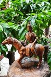 Traditionell thailändsk stil en av zodiak 12 Royaltyfri Foto