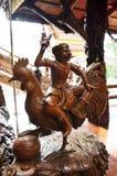 Traditionell thailändsk stil en av zodiak 12 Arkivfoto