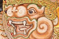 Traditionell thailändsk stil för tappning. Arkivbild