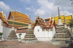 Traditionell thailändsk tempel arkivfoton