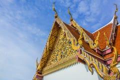Traditionell Thailand tempel Arkivbild