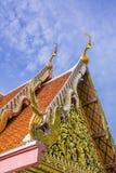 Traditionell Thailand tempel Arkivfoto