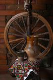 Traditionell tillbringare av vin Royaltyfria Bilder