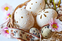 Traditionell tjeckisk easter garnering Royaltyfri Bild