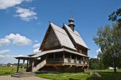 Traditionell träkyrka Royaltyfri Foto