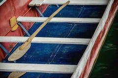 Traditionell träroddbåt Royaltyfria Bilder