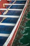 Traditionell träroddbåt Royaltyfri Fotografi
