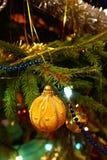 traditionell tree för jul Arkivfoton