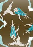 traditionell turk för illustrationottomantegelplatta Royaltyfri Bild