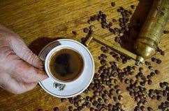 traditionell turk för kaffe Arkivfoto