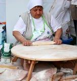 traditionell turk för kokkonstlahmacunpizza Royaltyfri Foto