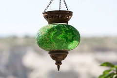 traditionell turk för lampa Arkivbild