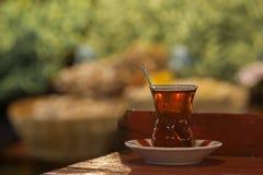 traditionell turk för tea Fotografering för Bildbyråer