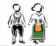 Traditionell tysk Royaltyfria Foton